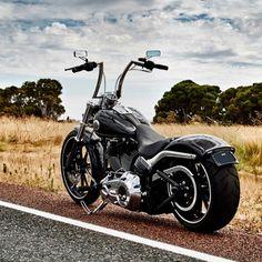 "Harley Davidson Breakout FXSB: Highball 14"" Apes, ChopZ Rear End Mod"