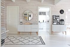 Annon Jalpaikka wool rug, designed by Susanna Vento LUNDIA Fugue - All What I am House Design, House Interior, Home Deco, Interior, White Interior, Home Decor, Home And Living, Home N Decor, Decor Interior Design