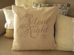 Homemade Christmas Pillow Covers