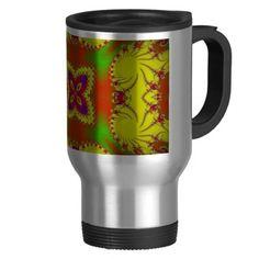 Digital Butterfly Mug  #Butterfly #Mug #Coffee