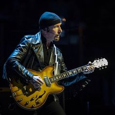 #TheEdge last night in Montreal #U2ieTour #U2 @U2 (ph. dario Ayala / Montreal Gazette)