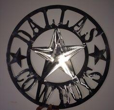 Dallas Cowboys Wall Art, Cowboys custom design, football http://etsy.me/1HJyMDF #EtsySocial #ChristmasGift