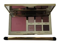 tarte tarteist eye  Cheek Palette and double Ended Brush * Check out this great product. (Note:Amazon affiliate link)