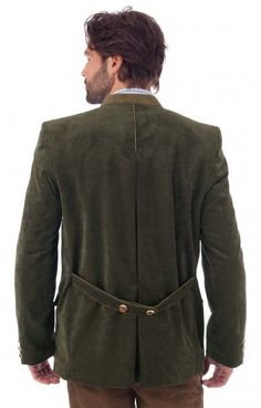 German traditional jacket Jannik green