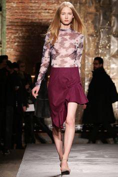 Jill Stuart Fall 2014 Ready-to-Wear #sheer