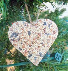 Winter ~ Advent ~ Week Three: Bird & Beast  ~ Birdseed Ornaments