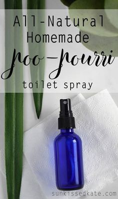 Homemade Natural Poo-Pourri Toilet Spray