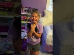 Adorable Girl Meets Kitten For the First Time and Cries Tears of Pure Joy - We Love Cats and Kittens