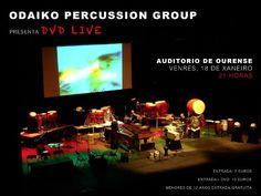 Odaiko Percussion Group @ Auditorio - Ourense musica concierto concerto percusión