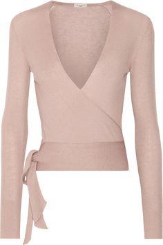 ETRO Ribbed Cashmere Wrap Cardigan. #etro #cloth #knitwear