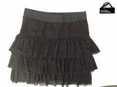 El Calaix de la Rosseta: falda de volantes negra