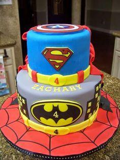 Pin by Dollybird bakes on Boy Themed Cakes Pinterest Batman