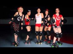 """OKVD Roller Derby Covers """"All About That Bass"""" - YouTube"""