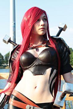 Katarina, League of Legends. // DeviantART