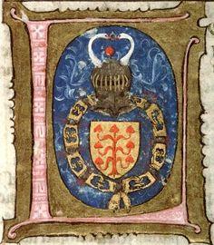[Jean V de Créquy], Tyrensis (Guillelmus), Le Livre d'Eracles, Ms. 0483, f° 001, 1440-45, BM d'Amiens (©IRHT, site Enluminures) -- See more at: «Les créquiers de l'illustre maison de Créquy»
