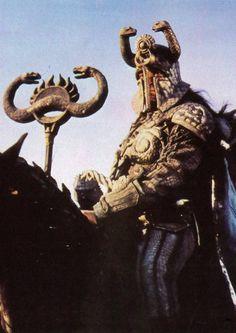 (S)Thulsa Doom High Priest/ Deceased Conan The Barbarian 1982, Conan O Barbaro, Savage Worlds, High Priest, Arnold Schwarzenegger, Beautiful Tattoos, Art Reference, Mythology, Science Fiction