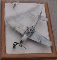 Bell P-63 Kingcobra - Winter 1/48 Scale Model Diorama
