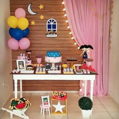 Show da Luna Birthday Backdrop, Birthday Party Decorations, Party Themes, Birthday Parties, Ice Cream Theme, Party Venues, Colorful Party, Holidays And Events, Event Decor