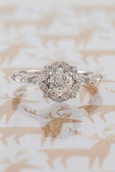 Most Popular Engagement Rings For Women ❤ See more: http://www.weddingforward.com/engagement-rings-for-women/ #weddings