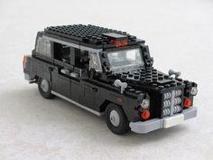 London black taxi #flickr #LEGO #MOC