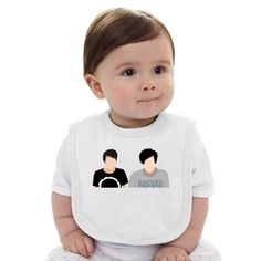 Dan And Phil Baby Bib