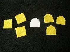 TUTORIAL - Słonecznikowa broszka z filcu