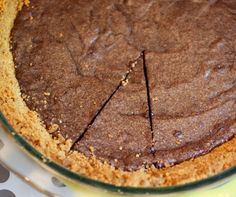 Brownie pie.
