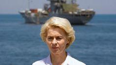 Deutschland will 650 Soldaten im Mittelmeer einsetzen