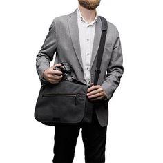 a62f0d5bfa  Tenba Cooper 13 Slim Grey Messenger Bags