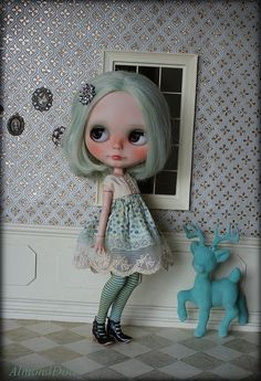 Lucy by AlmondDoll, via Flickr: