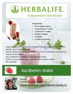 Heerlijk shake recept!