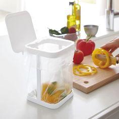 キッチンカウンターやシンクで使える卓上ゴミ箱