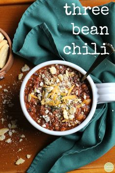 It's too hot for chili in Atlanta, but I might need to eat this anyway.  via @cadryskitchen