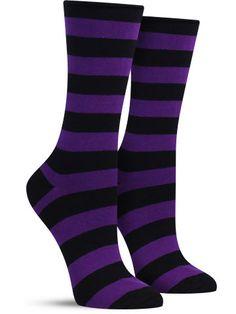 Comfort Top Basic Stripe Socks