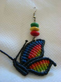 I do not know about it being a earring but it is really great work.
