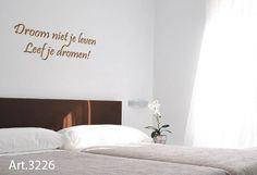 Slaapkamer Muur Quotes : 8 beste afbeeldingen van slaapkamer spreuken quote quotes en