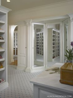 Clive Christian - Dressing Room - New Orleans LA by Hungeling Design