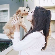 I coloured my hair for the first time by myself and I think milo approves hehe I uploaded a GRWM video of it, link in my bio! Jessica Conte, Jess And Gabe, Gabriel Conte, Ulzzang Korean Girl, Foto Casual, Girl And Dog, Stylish Girl, Dog Pictures, Role Models