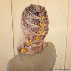 mermaid fishtail braid