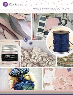 You Will NOT Believe It! Trendy and sweet this month's Prima Product Pick envelopes fashion trends beautifully! Navy is the go-to color right now, but pair it with the softest pale pink and you have a color combination that is absolutely gorgeous! #colorpalette #navy #pink
