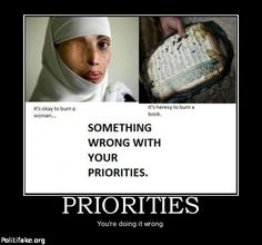 Stop sharia law. Stop our government from sending billions of our dollars to the Muslim Brotherhood.