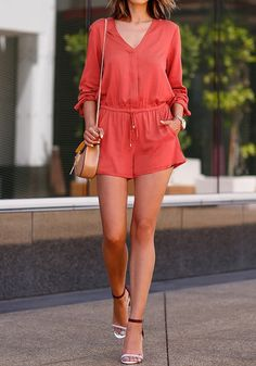 Playsuit season is almost here! Add this staple to your spring wardrobe. #womensfashion