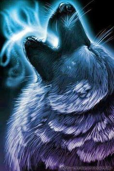 Naomi's father, Drew Sauvage, is a Lakota Wolf Dreamer. This is neither Lakota nor a Wolf Dreamer -- but it's a spirit Wolf, and it might be how Naomi saw Drew in her dream at the beginning of TAPPED.