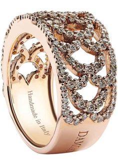 Damiani chocolate Diamond ring BELLA DONNA