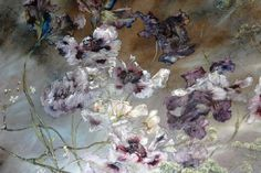 The boundaries between Claire Basler's art, studio and home blur just like the paintings and floral arrangements she creates. Working from a former ironwor