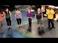 """Orff Level I Belmont """"Music Alone Shall Live""""- I like the idea of adding movement to a singing round...the kids can see the round go around."""