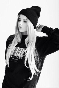 Sweater winter oversized sexy s winter s cute s black white black and  white b\u0026w