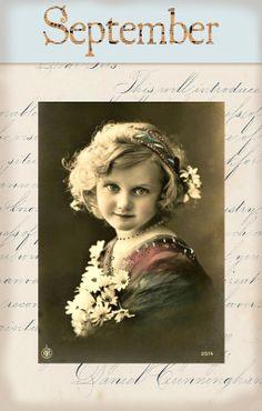 "Victorian ""Calender Girls"" ~ September"