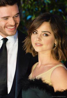 Richard and Jenna as Aidan and Nora