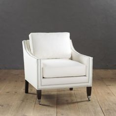 Griffin Club Chair with Pewter Nailheads | Ballard Designs. Perfect sitting area/living room chairs.